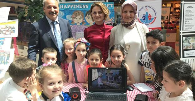 Şehit Ahmet Akyol İlkokulu'ndan üçlük atış