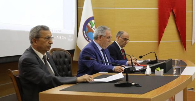 Vali Nayir başkanlığında çalışmalar değerlendirildi