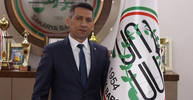 Baro Başkanı Burak'tan bayram mesajı