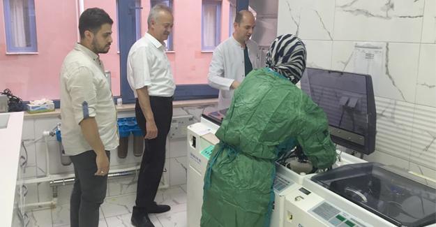 SAÜEAH'da endoskopi ünitesi yenileniyor