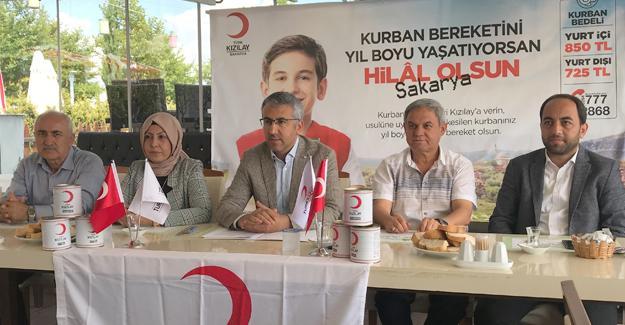 Kızılay'ın kurban kampanyası başlıyor