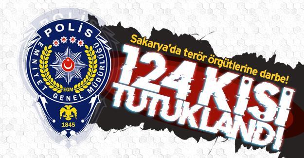 Sakarya'da terör örgütlerine darbe!