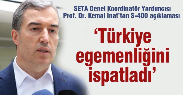 """""""Türkiye egemenliğini ispatladı"""""""