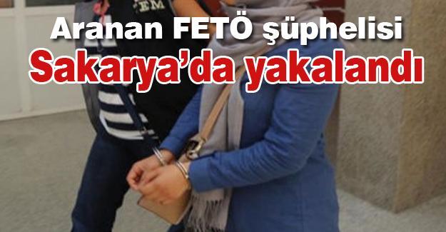 Aranan FETÖ şüphelisi Sakarya'da yakalandı