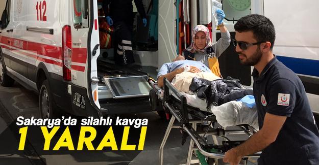 Silahlı kavgada ayağından vurulan bir kişi yaralandı