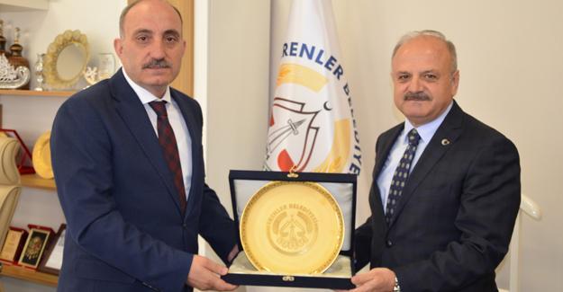 Vali Çakacak'tan Başkan Kılıç'a ziyaret