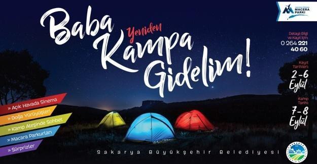 'Baba Kampa Gidelim' yeniden Macera Park'ta