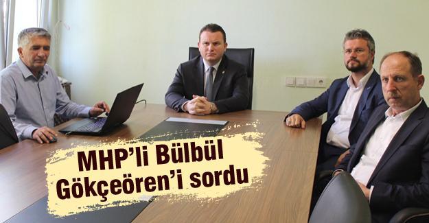 Bülbül'den DSİ, Emniyet ve Jandarma'ya ziyaret