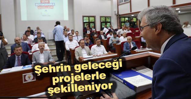 Büyükşehir Meclis toplantısı yapıldı