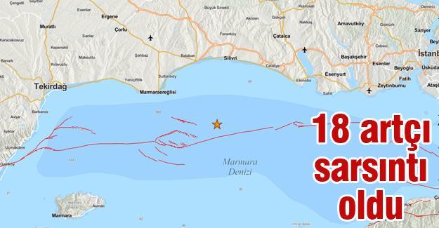 Marmara Denizi beşik gibi!
