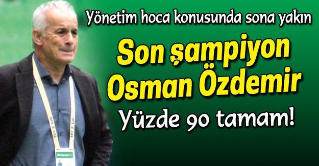 Osman Özdemir Sakaryaspor'a doğru!