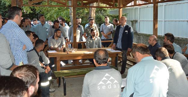 SEDAŞ ekipleri ile etkili iletişim etkinliği