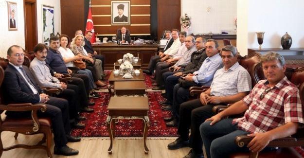 TCDD 1. Bölge Müdürü Meriçli'den Vali Nayir'e ziyaret