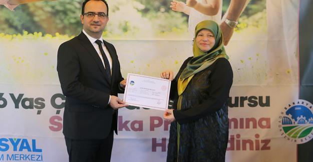 Çocuk Gelişimi Kurslarında sertifika heyecanı
