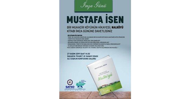 Prof. Dr. Mustafa İsen'in ''Nalköy'' kitabı imza günü SATSO'da