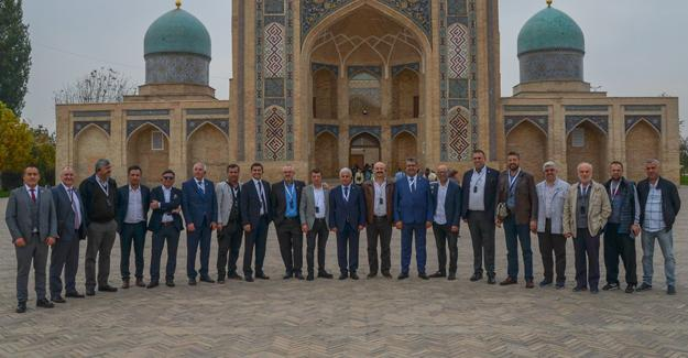 SATSO heyeti Özbekistan'da