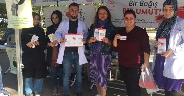 Vatandaşları organ bağışına davet ettiler