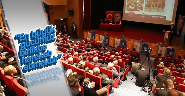 AK 63. AK Parti Adapazarı Danışma Meclisi yapıldı