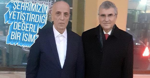 Başkan Yüce'den TÜRK-İŞ Başkanı Atalay'a ziyaret