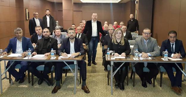 Marmara'nın Bakkal Odası Başkanları Düzce'de toplandı