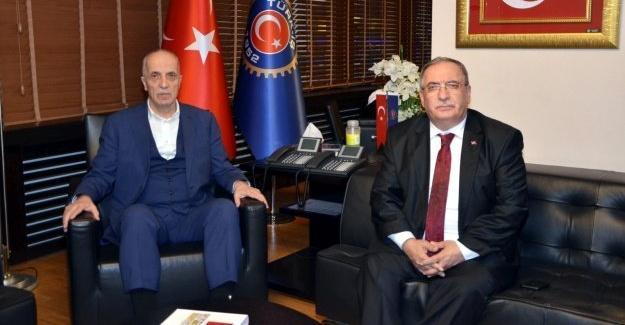 Vali Nayir Ankara'da çeşitli temaslarda bulundu