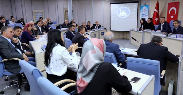 Ocak Meclisi'nde projeler konuşuldu
