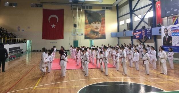 Taekwondo kemer sınavlarına büyük ilgi
