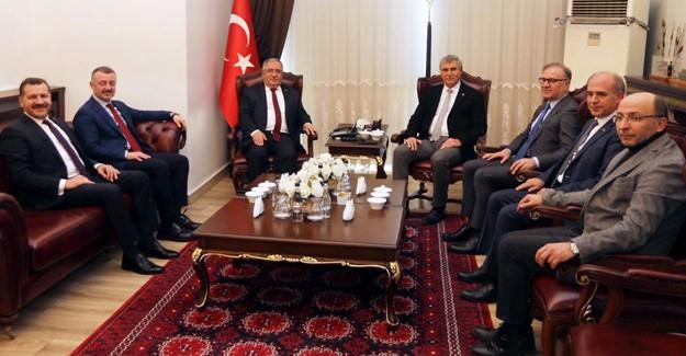 MBB üyelerinden Vali Nayir'e ziyaret