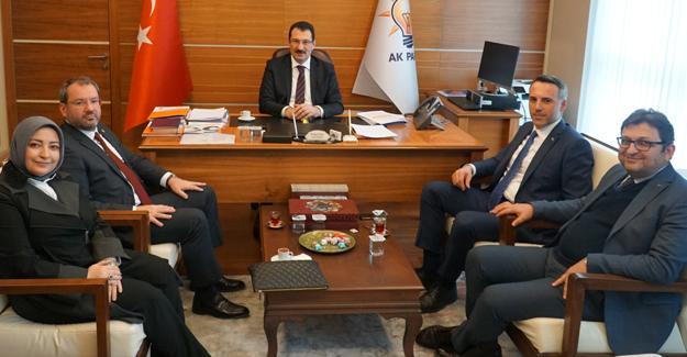 Tever Ankara'da temaslarda bulundu
