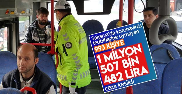1 milyon 507 bin 482 TL para cezası kesildi