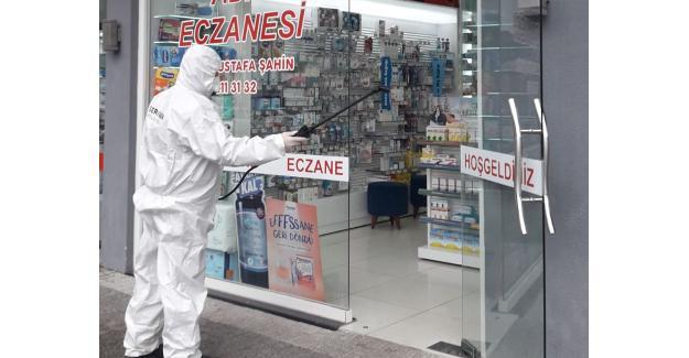 Eczaneler yeniden dezenfekte edildi