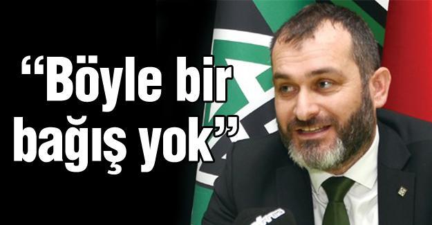 Cevat Ekşi'den Sakaryaspor açıklaması