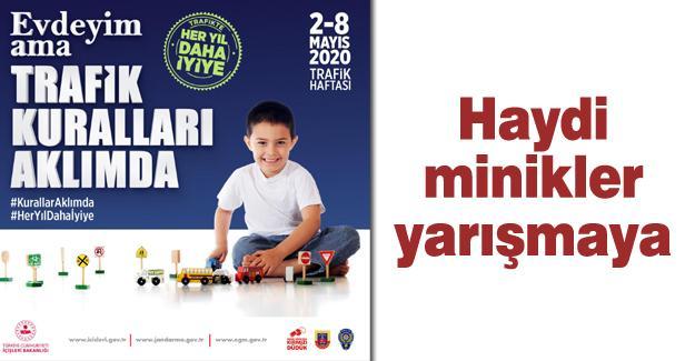 İl Emniyet Müdürü Kaya'dan çocuklara özel yarışma