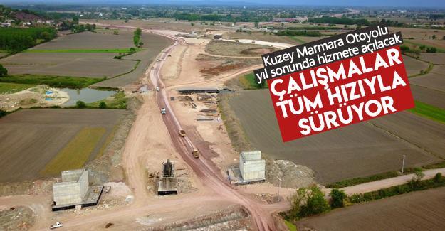 Kuzey Marmara Otoyolu yıl sonunda hizmete açılacak