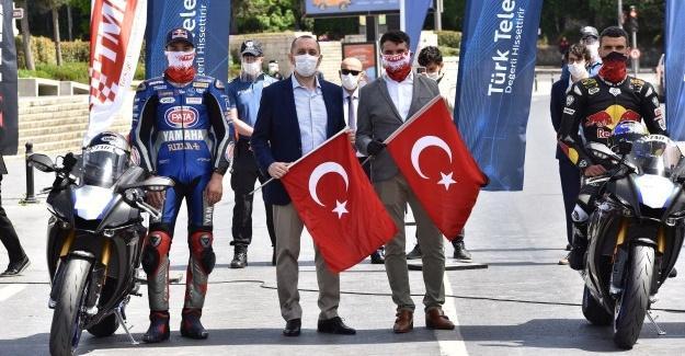 Sofuoğlu ve Razgatlıoğlu'ndan Türkiye'nin tanıtımına katkı