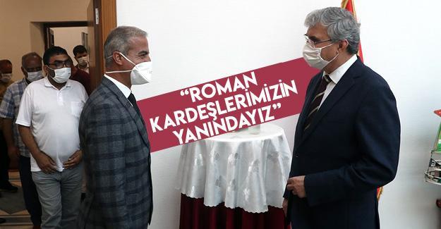 Başkan Yüce Sakarya Romanlar Derneğini ağırladı