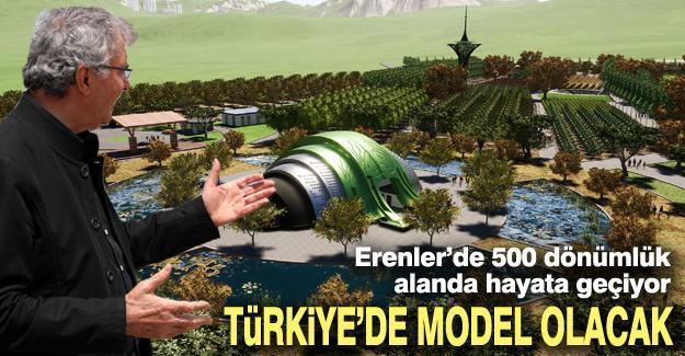 Türkiye'de model olacak!