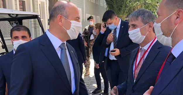 Başkan Alemdar'a Ayasofya övgüsü