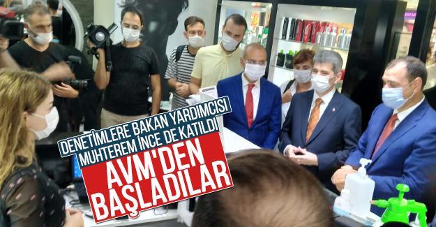 Sakarya'daki denetimler Serdivan AVM'den başladı