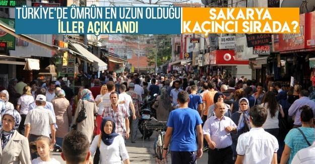 Türkiye'de ömrün en uzun olduğu iller açıklandı