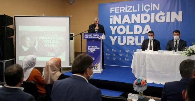 AK Parti Ferizli Muhsin Zurnacı ile devam