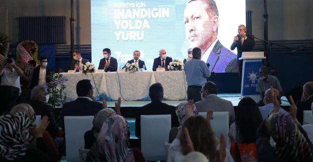 AK Parti Hendek İlçe Kongresi yapıldı
