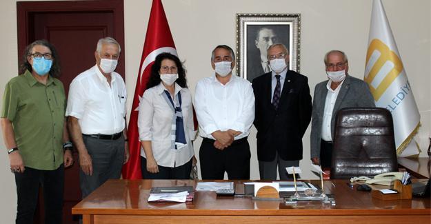 SASTOP'tan Başkan Karakullukçu'ya ziyaret