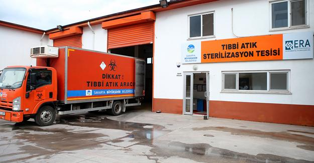 1 milyon kg tıbbi atık bertaraf edildi