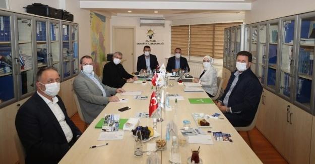 AK Parti Sakarya İl Koordinasyon toplantısı yapıldı