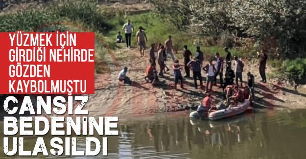 Nehirde kaybolan çocuğu cansız bedenine ulaşıldı
