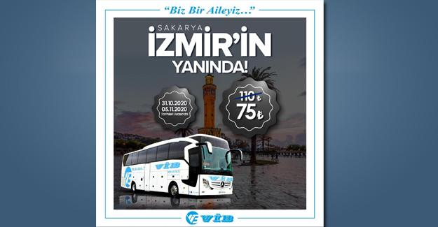VİB turizmden İzmir'e destek