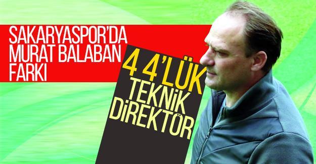 Sakaryaspor'da Murat Balaban farkı