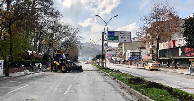 SGK kavşağında Serdivan dönüşlerine yeni düzenleme