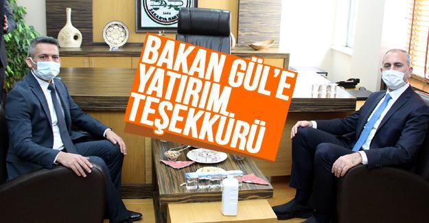 Bakan Gül'den Sakarya Barosu ziyareti
